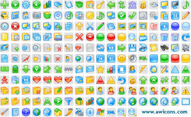 Click to view Artistic Icons Collection 3.0 screenshot