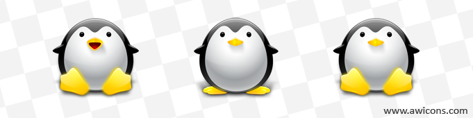 Tux-Penguin Icons