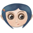 Coraline Icon 128px png