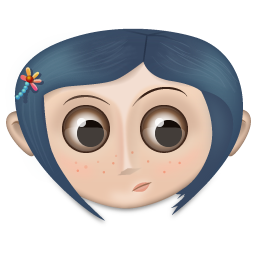 Coraline Icon 256px png
