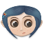 Coraline Icon 64px png