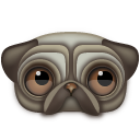 Pug Icon 128px png