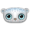 Snow Leopard Icon 128px png