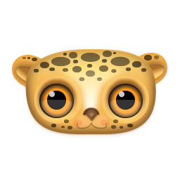 Leopard Icon 256px png