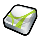 Adobe Acrobat 3D Icon icon