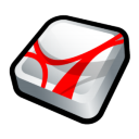 Adobe Acrobat Reader Icon icon