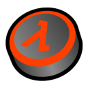 Half Life Classic Icon 128px png