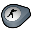 Half Life Counter Strike Icon 128px png