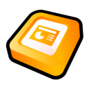 Microsoft Office PowerPoint Icon icon