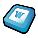 Microsoft Office Word Icon icon