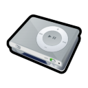 iPod Shuffle Icon 128px png