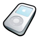 iPod Video White Icon icon