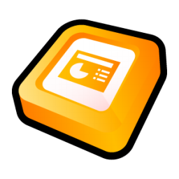 Microsoft Office PowerPoint Icon 256px png
