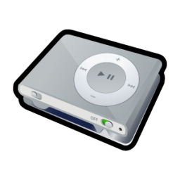 iPod Shuffle Icon 256px png
