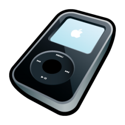 iPod Video Black Icon 256px png