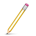 Pencil Icon 128px png