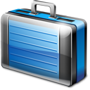 Briefcase Icon 128px png