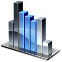 Column Chart Icon 128px png