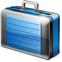 Briefcase Icon 256px png