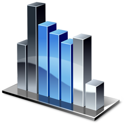 Column Chart Icon 256px png