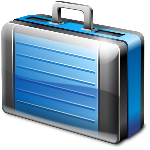 Briefcase Icon 512px png