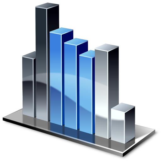 Column Chart Icon 512px png