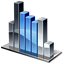 Column Chart Icon 64px png