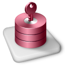 Color MS Access Icon 128px png