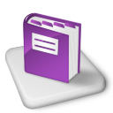 Color MS OneNote Icon 128px png