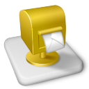 Color MS Outlook Icon icon