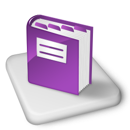 Color MS OneNote Icon 256px png