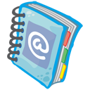 Address Book Icon 128px png