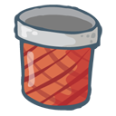 Trash Full Icon 128px png
