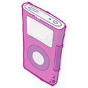 iPod Pink Icon icon