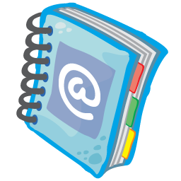 Address Book Icon 256px png