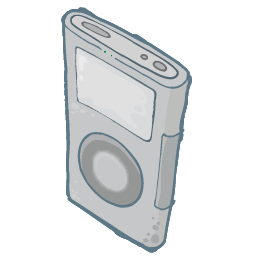 iPod Grey Icon 256px png