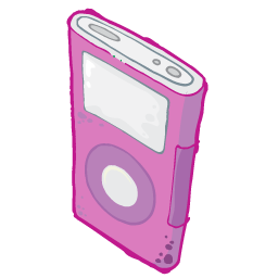 iPod Pink Icon 256px png