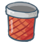 Trash Full Icon 64px png