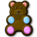 Bear Icon 128px png