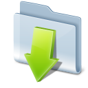 Downloads Icon 128px png