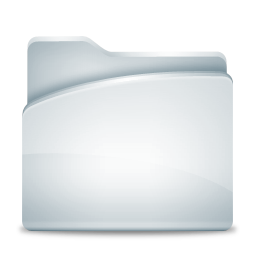 Folder Gray Icon 256px png