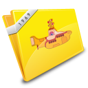 Yellow Submarine Icon icon