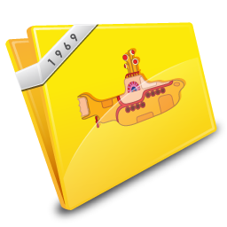 Yellow Submarine Icon 256px png