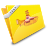 Yellow Submarine Icon 96px png
