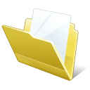 Folder Document Icon 128px png