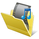Folder My Video Icon 128px png