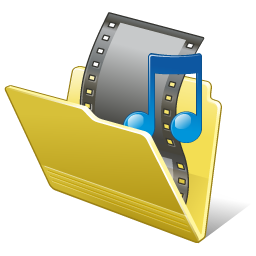 Folder My Video Icon 256px png