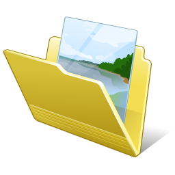 Folder My Pictures Icon 256px png
