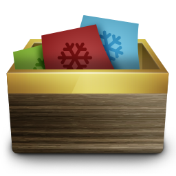 Recycle Bin Full Icon 256px png