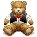 Gift Brown Bear Icon icon